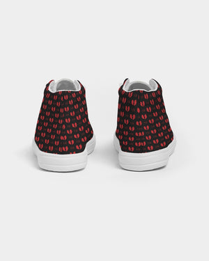 Razah Rubiez Alternative Samurai Kids Hightop Canvas Shoe