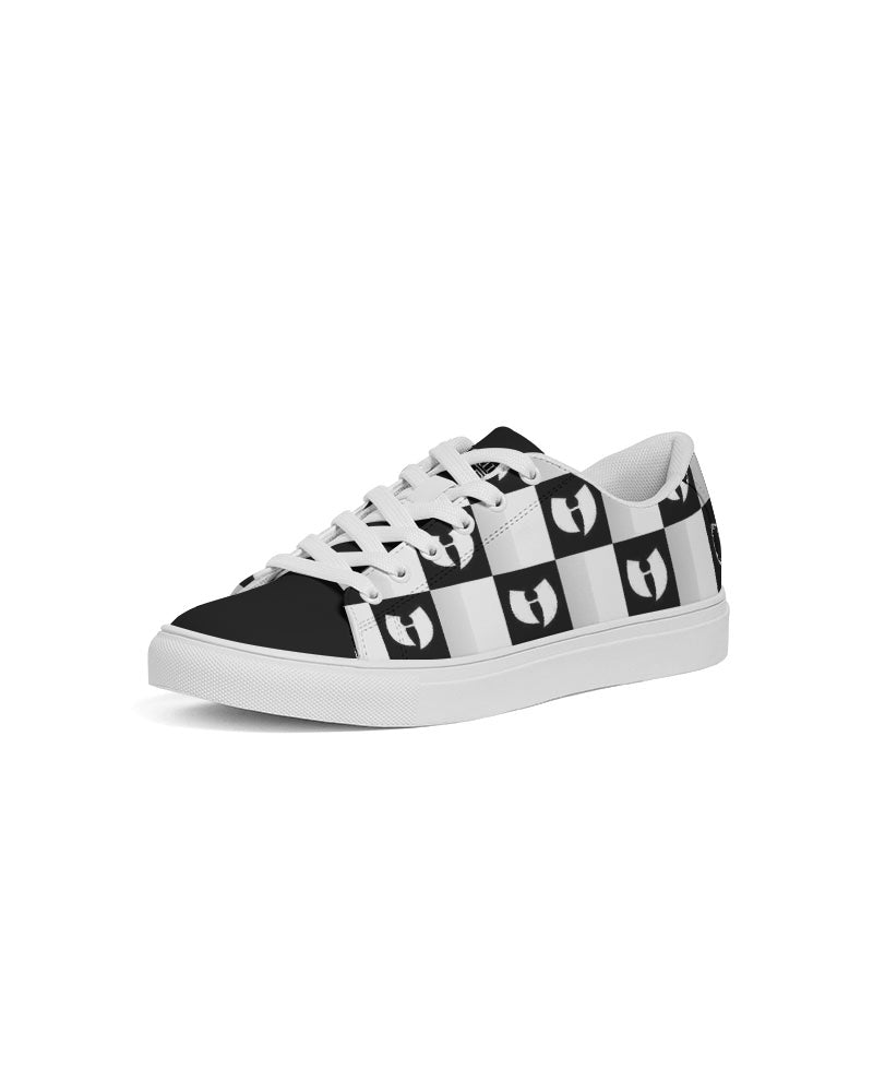 Renaissance Chessboard Women's Faux-Leather Sneaker
