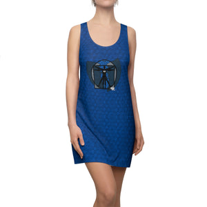 HRMI Vetruvian Superman HellRazah Music Inc. Designer Women's Racerback Dress HeavenRazah - Graphics by iHustle365