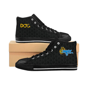 DiamondzOC Urban Grenade Logo Designer Shoes Men's High-top Sneakers D.O.C.
