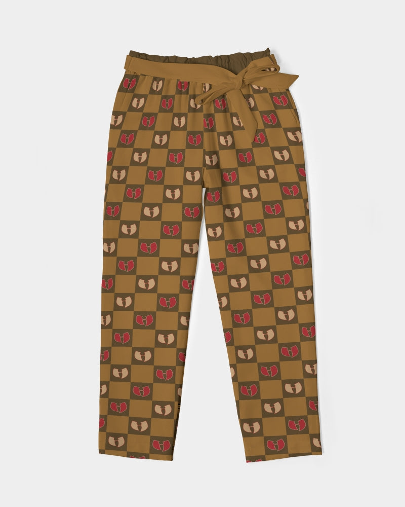 Grand Royal Women's Belted Tapered Pants