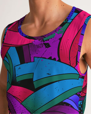 D.O.C.Arrow Graffiti Men's Sport Tank