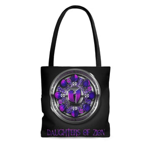 Daughters of Zion - Team Queen - GGO Official Designer Tote Bag HeavenRazah Graphics by Culture Freedom