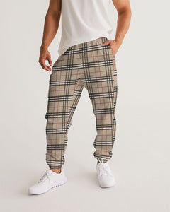 Renaissance Apparel Designer Plaid Men's Track Pants