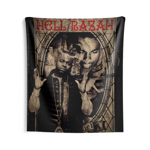 HellRazah Music Inc. Collectible Indoor Polyester Wall Tapestry