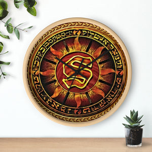 Sunz of Man - WU Files 10 by DJ Flipcyide Wall clock
