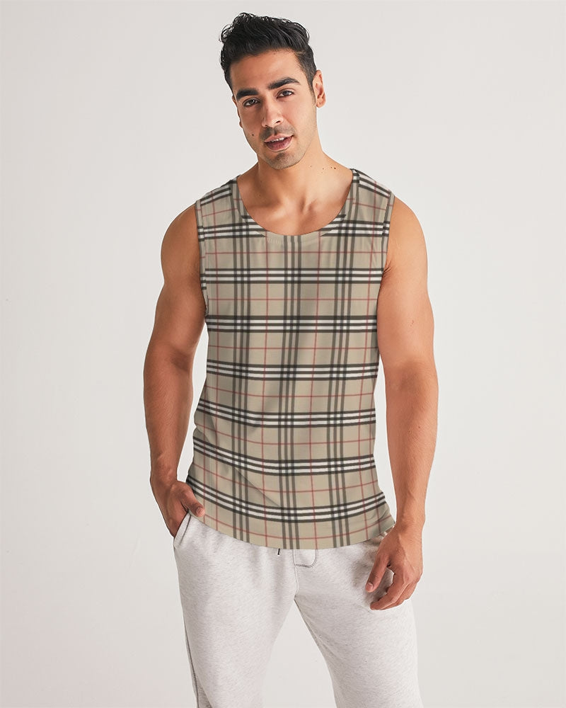 Renaissance Plaid Men's Sports Tank