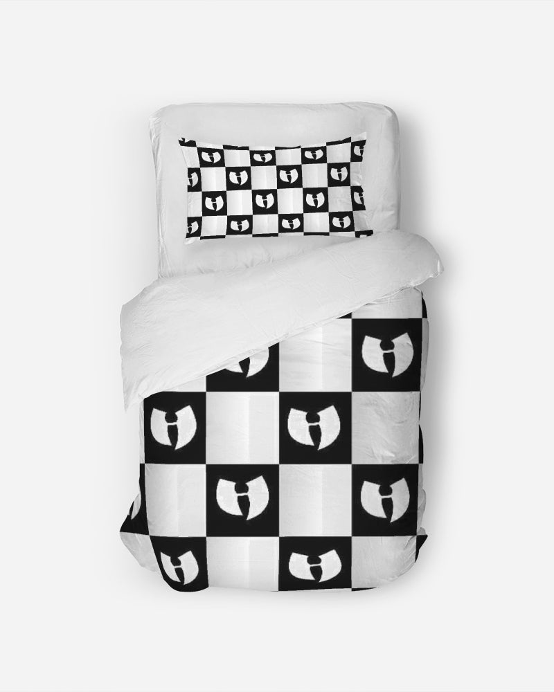 Renaissance Chessboard Twin Duvet Cover Set