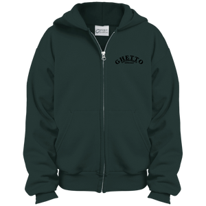 Ghetto Gov't Officialz Embroidered Youth Full Zip Hoodie