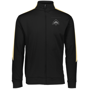 Diamond Klub Empire BLIZZY BLACK Embroidered Performance Colorblock Full Zip