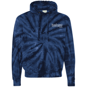 Renaissance Apparel Signature Embroidered Tie-Dyed Pullover Hoodie
