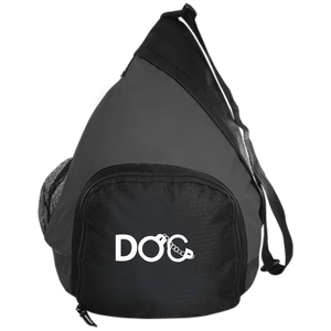 DOC Cuff Logo Embroidered Port Authority Active Sling Pack Diamondz Original Clothing