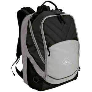 Diamond Klub Empire BLIZZY BLACK Embroidered Logo Laptop Computer Backpack