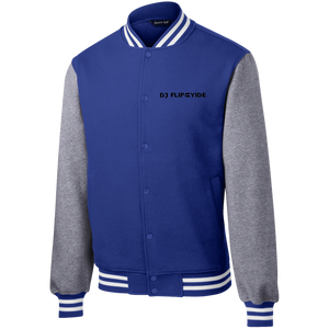 Official DJ Flipcyide Embroidered Sport-Tek Fleece Letterman Jacket