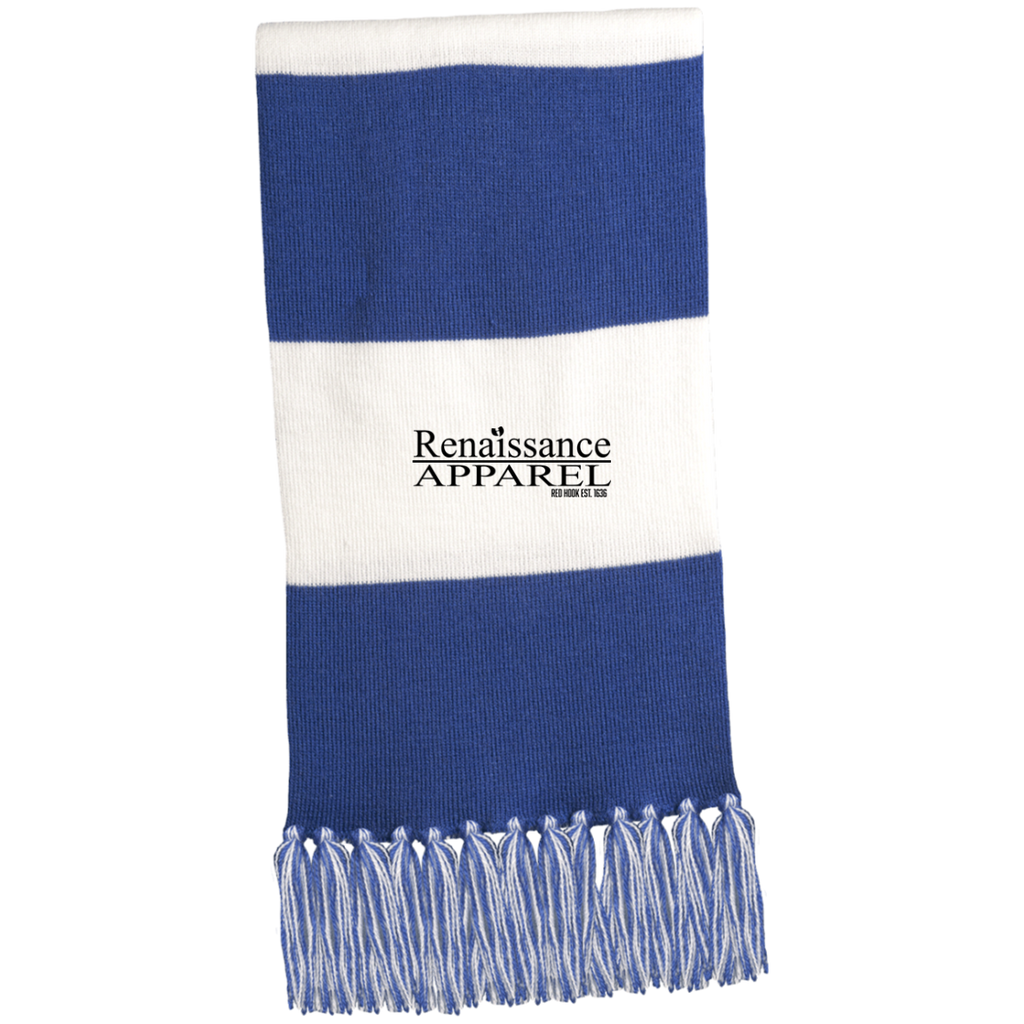 Renaissance Apparel Signature Embroidered Sport-Tek Fringed Scarf