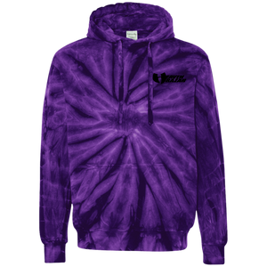 HeavenRazah Name Logo Embroidered Tie-Dyed Pullover Hoodie HRMI HellRazah Music Inc. Graphics by Culture Freedom