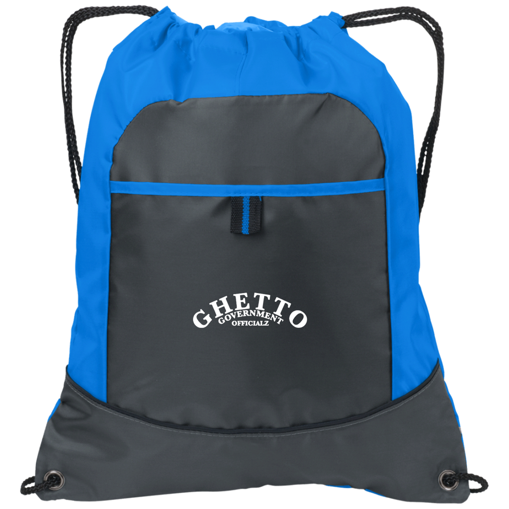 Ghetto Gov't Officialz Embroidered GGO Pocket Cinch Pack