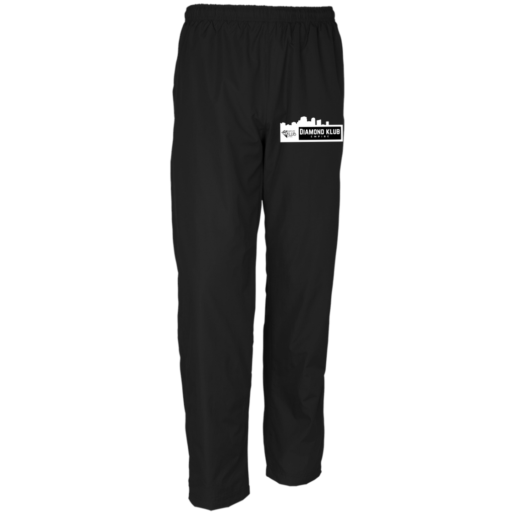 Diamond Klub Empire White Embroidered Logo Sport-Tek Men's Wind Pants