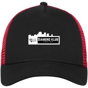 Diamond Klub Empire White Logo New Era® Snapback Trucker Cap