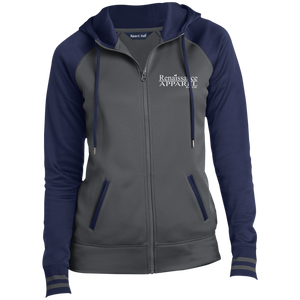 Renaissance Apparel Signature Embroidered Sport-Tek Ladies' Sport-Wick® Full-Zip Hooded Jacket