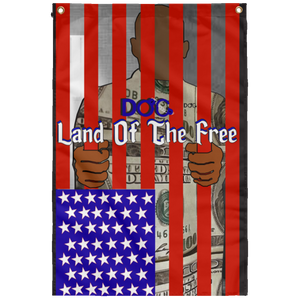 DiamondzOC Flag Land of the Free Fall 2019 Sublimated Wall Flag
