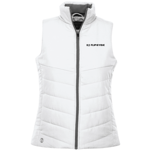 Official DJ FlipCyide Embroidered Holloway Ladies' Quilted Vest
