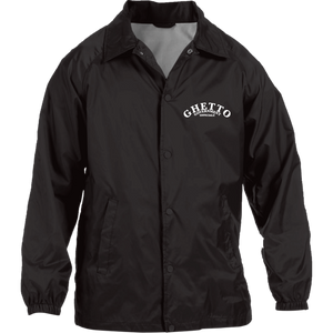 Ghetto Gov't Officialz GGO Embroidered Designer Harriton Nylon Staff Jacket