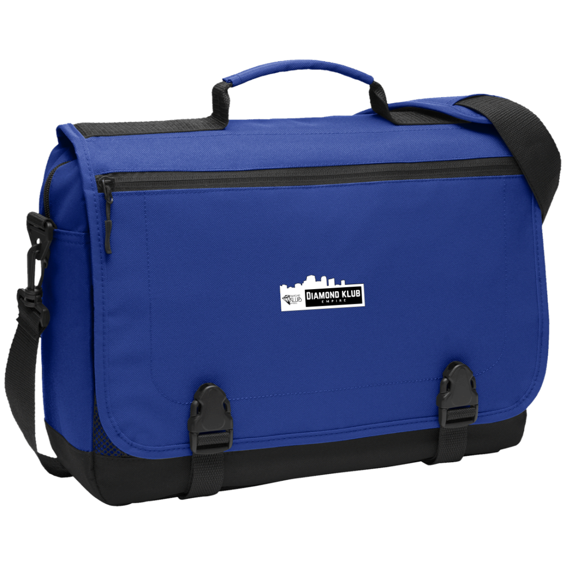 Diamond Klub Empire Logo Messenger Briefcase