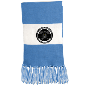 GGO Ghetto Gov't Officialz Logo 2 Sport-Tek Fringed Scarf HeavenRazah - HRMI