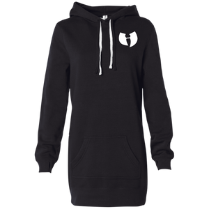 HRMI HellRazah Music Inc Embroidered Logo Designer Women's Hooded Pullover Dress Official HeavenRazah Line