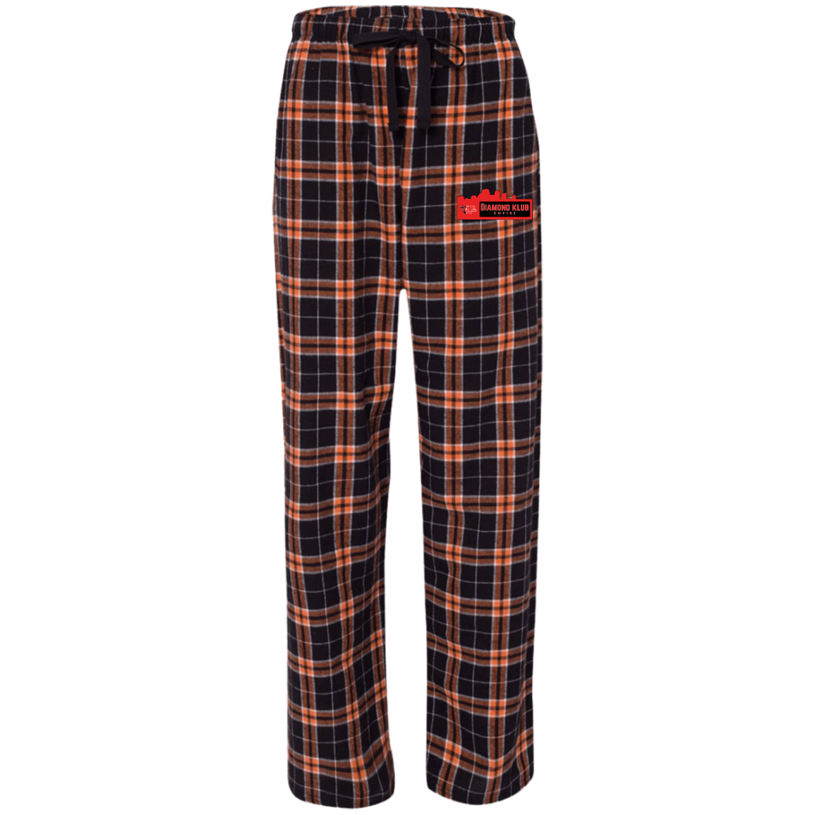 Diamond Klub Empire Embroidered Logo Boxercraft Unisex Flannel Pants