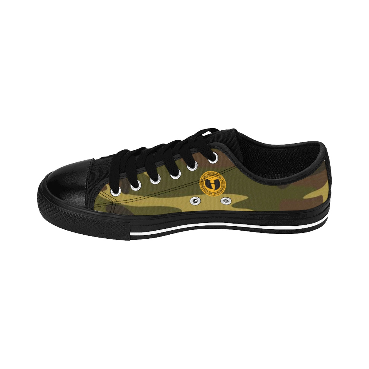 HRMI Private First Class (E-3) Warfare Low Top Men's Sneakers HellRazah Music Inc HeavenRazah
