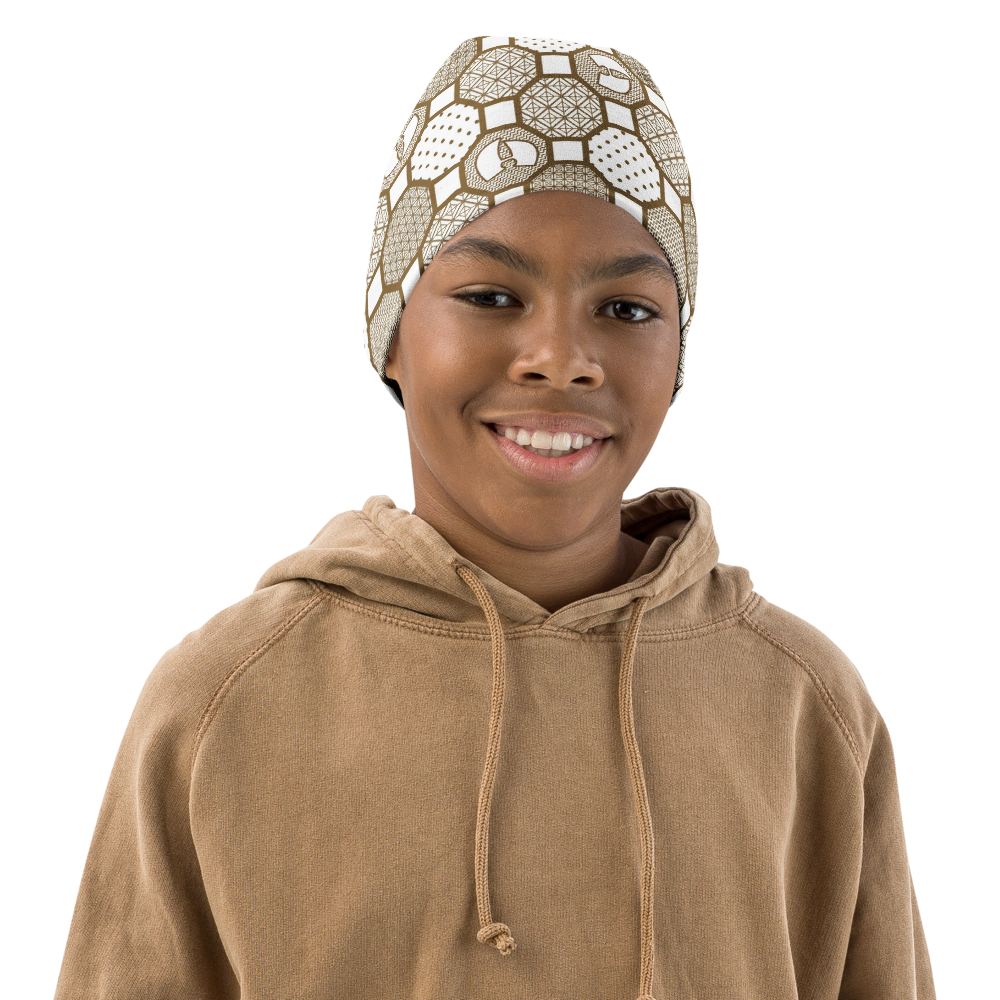 Renaissance Cream Youth Beanie