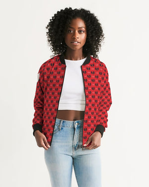 Red Razah Geisha Women's Bomber Jacket
