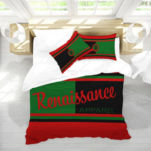 RRA Renaissance Apparel Signature Design Queen Duvet Cover Set