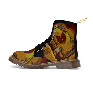 HRMI Razah's Book Official Renaisannce Apparel Men's Canvas Boots HellRazah Music Inc. - HeavenRazah