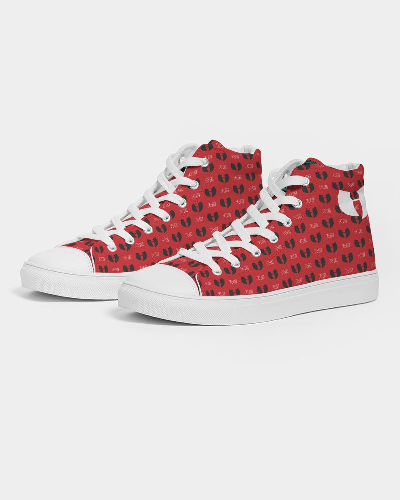 Red Razah Samurai Men's Hightop Canvas Shoe