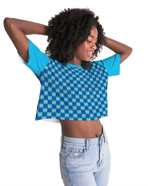 Grand Azul Women's Lounge Cropped Tee
