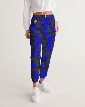 Blue Camo Women's Track Pants