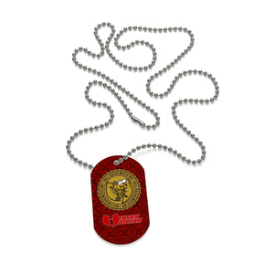 Official Hell Razah Music Inc Logo Designer Dog Tag Necklace Heaven Razah Merchandise