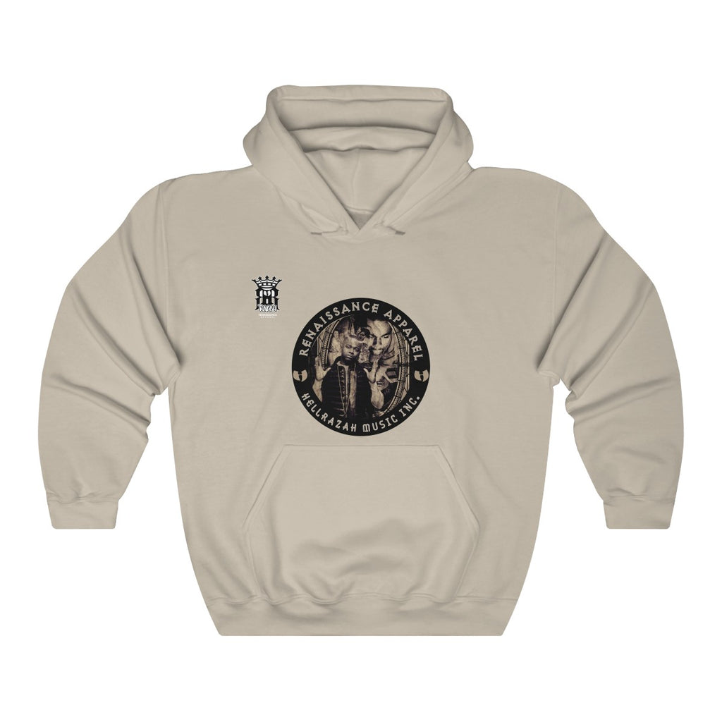 RRA Razah Cover Logo 1 Renaissance Apparel Unisex Heavy Blend™ Hooded Sweatshirt
