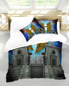 Renaissance Temple King Duvet Cover Set