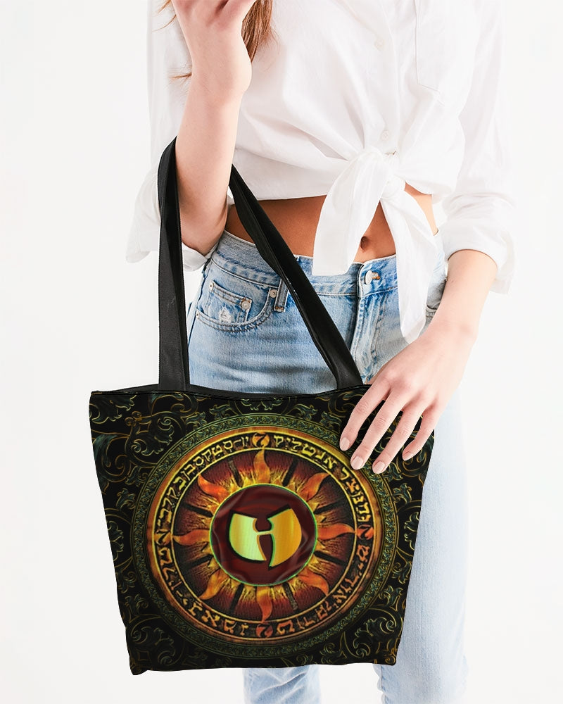 HellRazah Logo Canvas Zip Tote