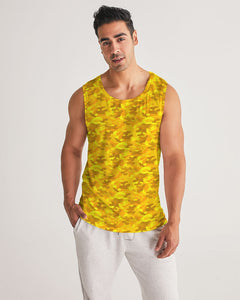 Golden Camo Men's Sports Tank