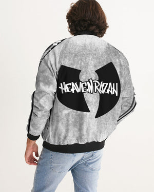 HeavenRazah Graffiti Hustle Logo Men's Bomber Jacket