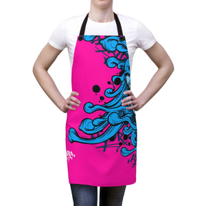 HRMI Pink Hydra - iHustle365 Official Limited Edition Apron HellRazah Music Inc. - HeavenRazah