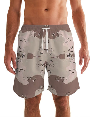 Renaissance Apparel Desert Camo Men's Swim Trunk