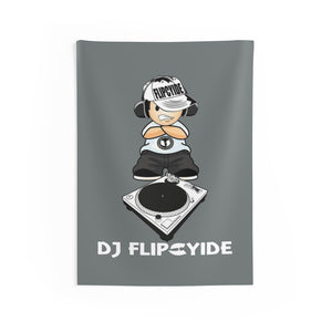 DJ Flipcyide Indoor Wall Tapestry