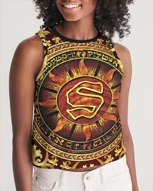 Official DJ Flipcyide - Wu Files 10 Album Cover Women's Cropped Tank