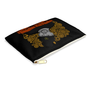 Official Heaven Razah Speaker Caricature Designer Accessory Pouch - Pencil Bag Hell Razah Music Inc. Merch Graphis by Sly Ski Original